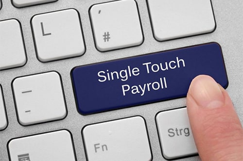 Single touch payroll changes