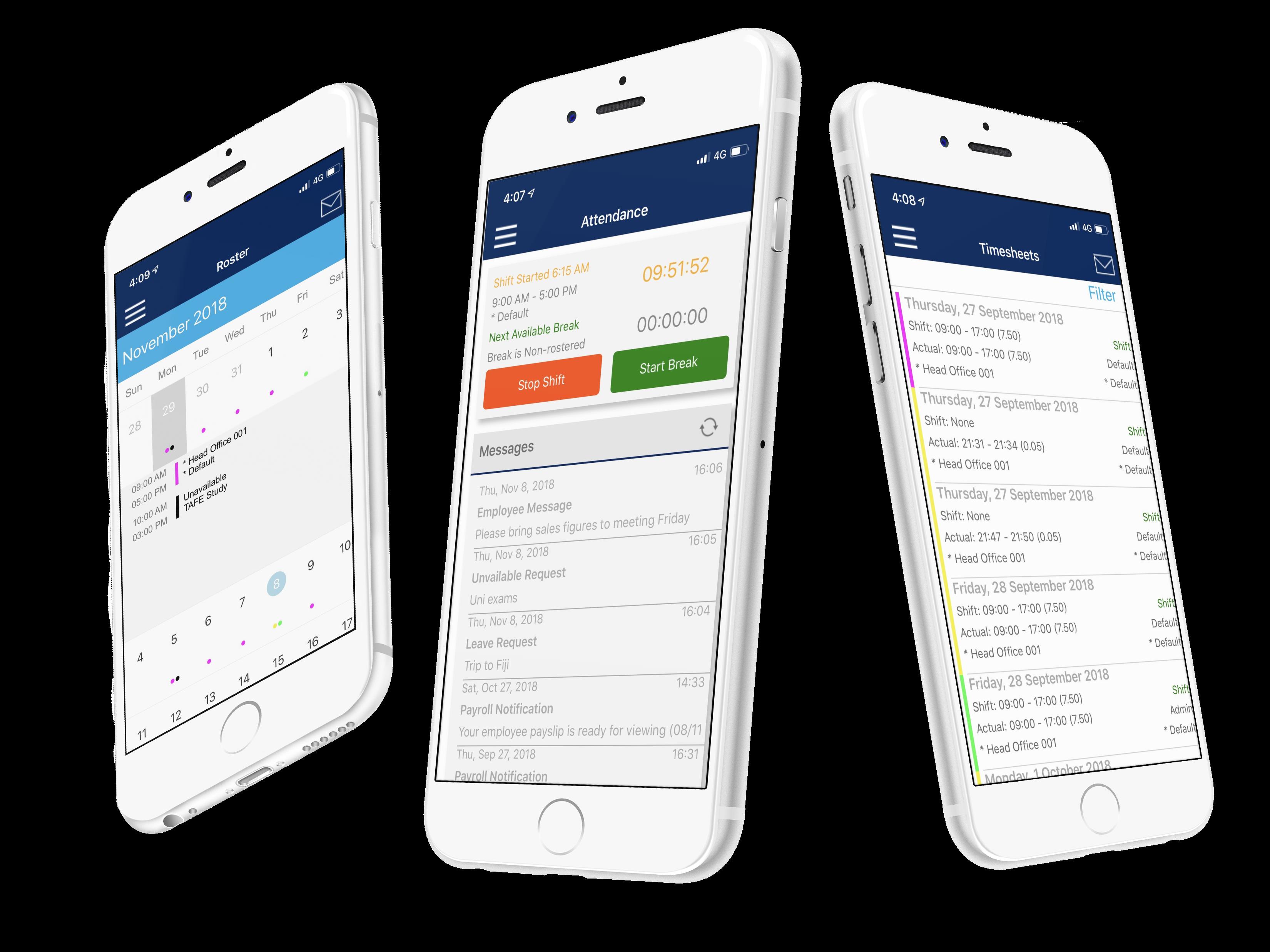 ClockOn GO Mobile App
