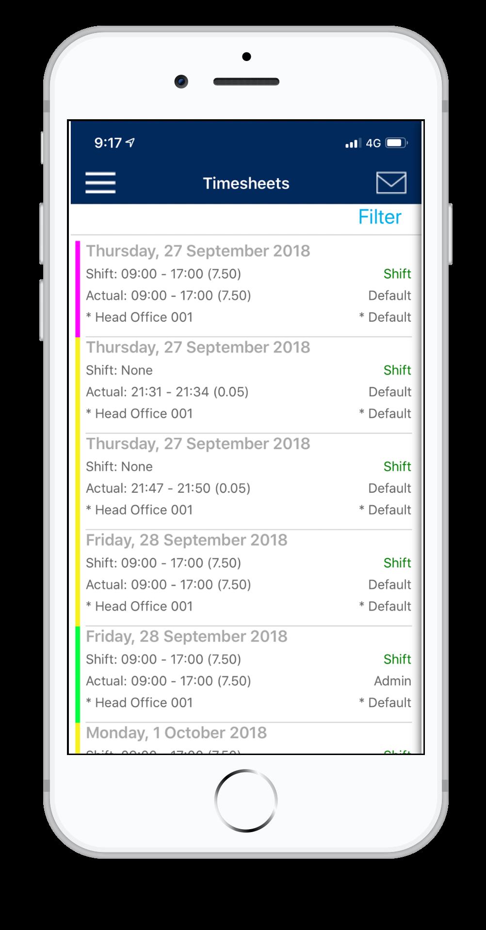 Timesheet App
